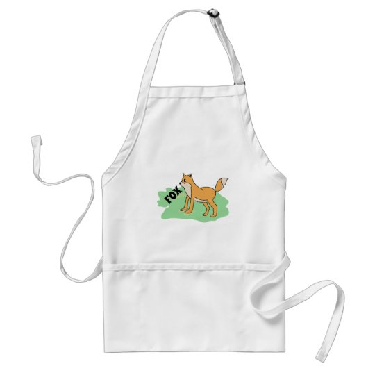 fox in the field standard apron