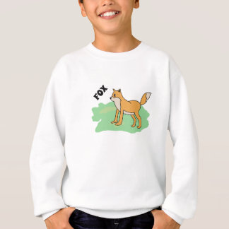 fox in the field sweatshirt