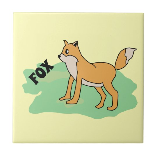 fox in the field tile