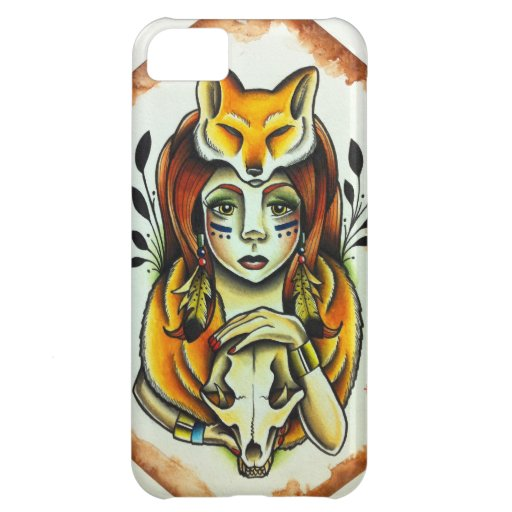 Fox Lady iPhone 5C Covers