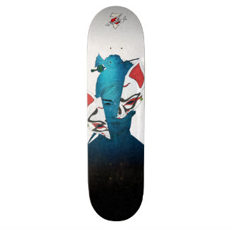 Fox Mask Skateboard Deck