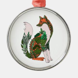 Fox Metal Ornament