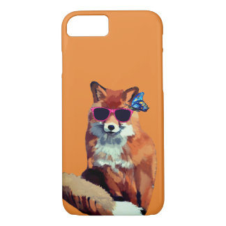 Fox Mood Apple iPhone 8/7, Barely There Case-Mate iPhone Case
