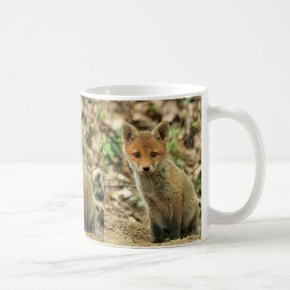 fox mug, fox coffee mug, fox gift coffee mug