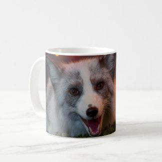 fox mug, foxy decor, fox cub coffee mug