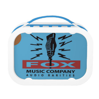 Fox Music Audio Rarities Lunch Box