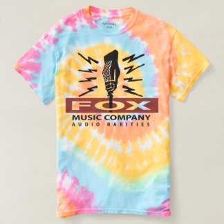 Fox Music Company Tye-Dye T-Shirt