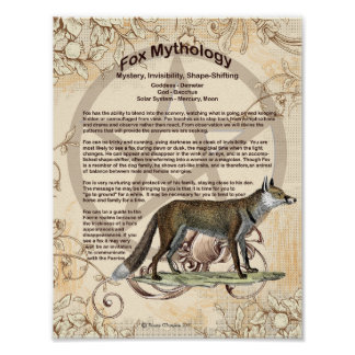 FOX MYTHOLOGY POSTER