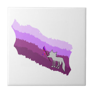 Fox of Colors Tile