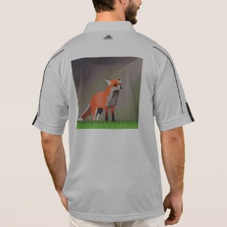Fox on meadow polo shirt