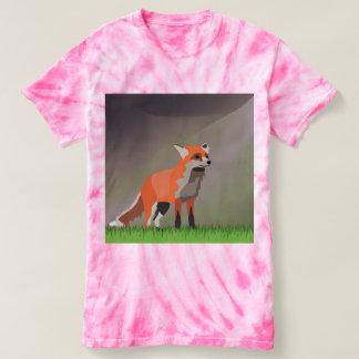 Fox on meadow t-shirt