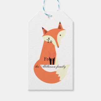 Fox Pack Of Gift Tags