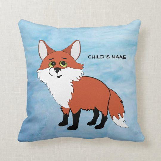 Fox Personalized Pillow