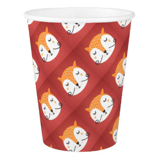 Fox phase paper cup