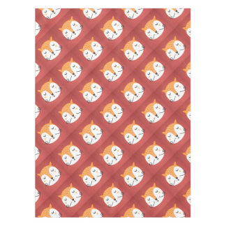 Fox phase tablecloth