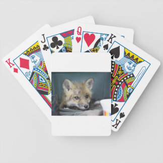 Fox Phone Case Bicycle Playing Cards
