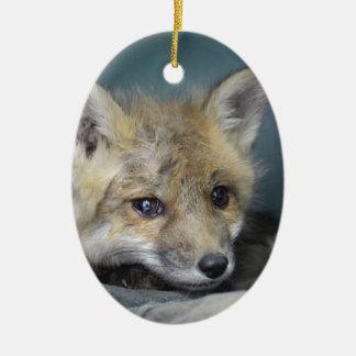 Fox Phone Case Ceramic Ornament