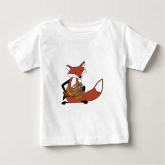 Fox Playing the French Horn Tshirt