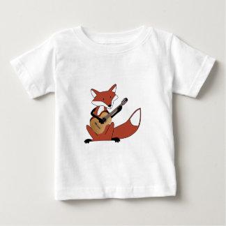 Fox Playing the Guitar Baby T-Shirt