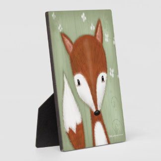 Fox Portrait Plaque