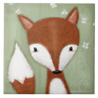 Fox Portrait Tile