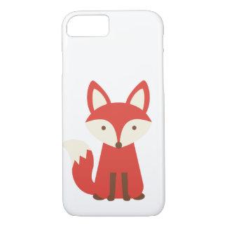 Fox print phone case