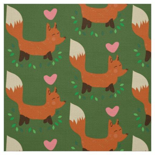 fox retro fabric