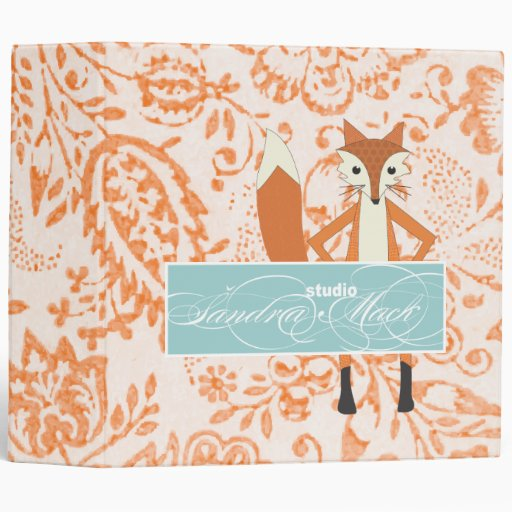 Fox Sandra Mack Studio Vinyl Binders