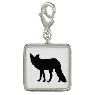 Fox Silhouette Charm