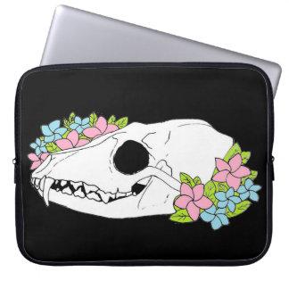 Fox Skull Laptop case cover sleeve