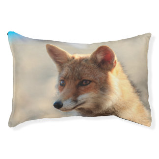 Fox Small Dog Bed