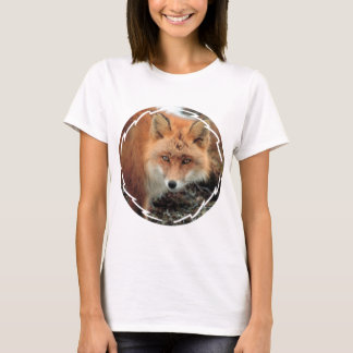 Fox Species Ladies Fitted T-Shirt