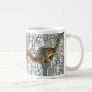 Fox Squirrel Profile (Winter) Mug
