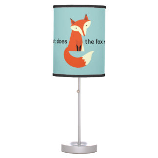 Fox Table Lamp