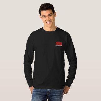 Fox Teeth Long Sleeve - Black T-Shirt