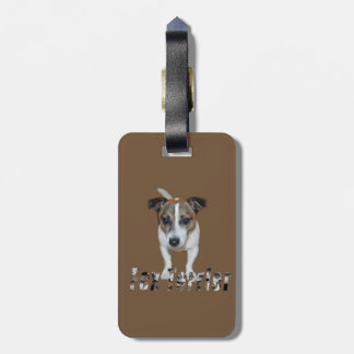 Fox Terrier And Fox Terrier Logo, Luggage Tag