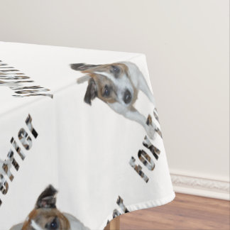 Fox Terrier And Fox Terrier Logo, Tablecloth