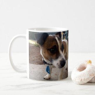 Fox Terrier Attraction, White Coffee Mug
