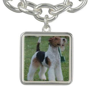 Fox Terrier Charm Bracelet