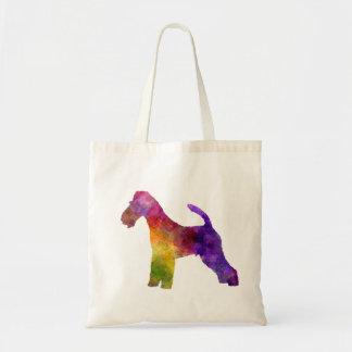 Fox Terrier in watercolor