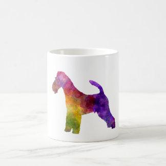 Fox Terrier in watercolor Coffee Mug