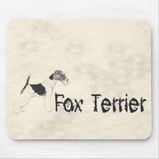 Fox Terrier Mouse Pad