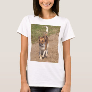 Fox_terrier_smooth_in_action T-Shirt