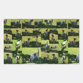 Fox Terrier, The Hard Day, Sticker