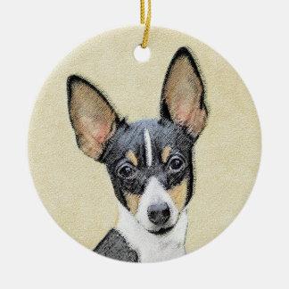 Fox Terrier (Toy) Ceramic Ornament