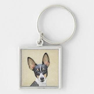 Fox Terrier (Toy) Keychain