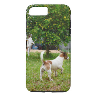 Fox_Terriers_Playtime,Tough iPhone 7 Plus Case