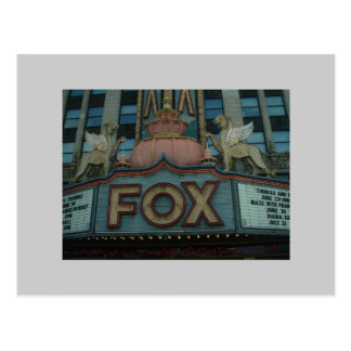 Fox Theater, Detroit, Michigan Postcard