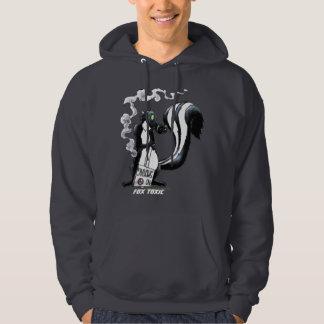 Fox Toxic- Cyberpunk Skunk Hoodie
