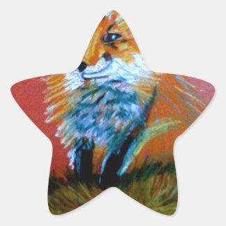 Fox Trot Star Sticker